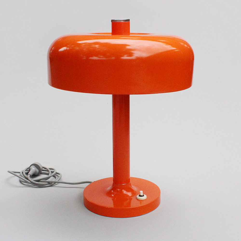 big orange Napako lamp