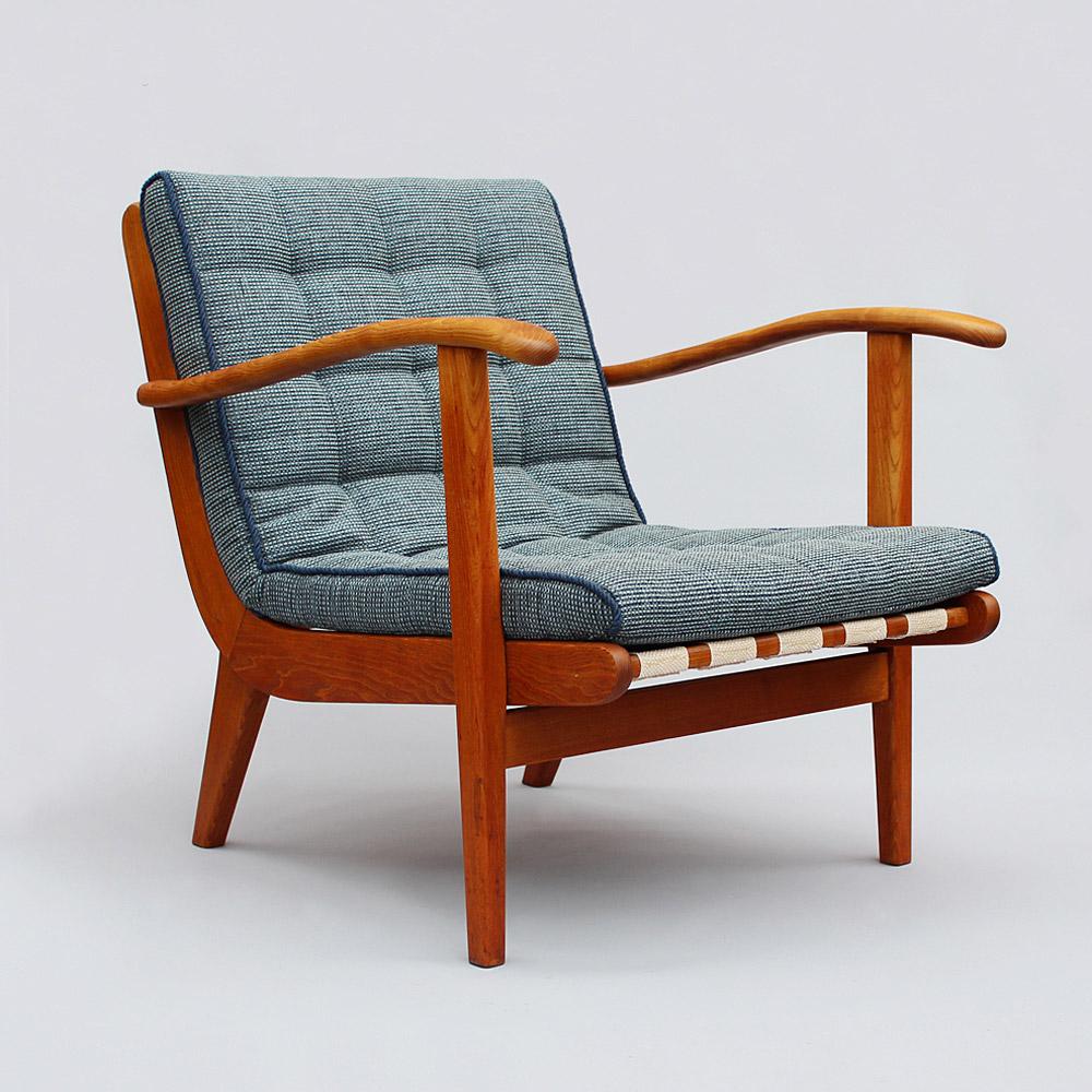 Light Blue Armchair 30u0027s   50u0027s